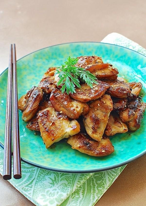 مرغ کبابی کره ای