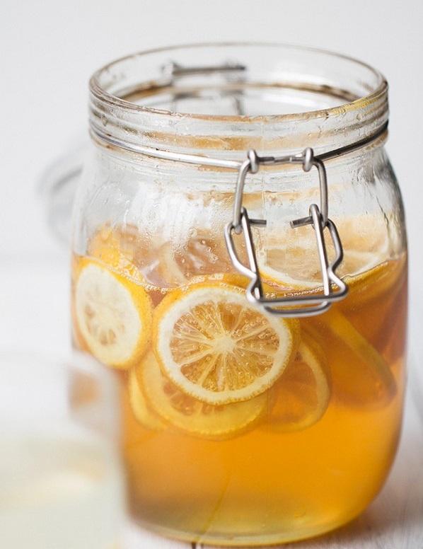 لیمو عسل برای تهیه چای لیمو
