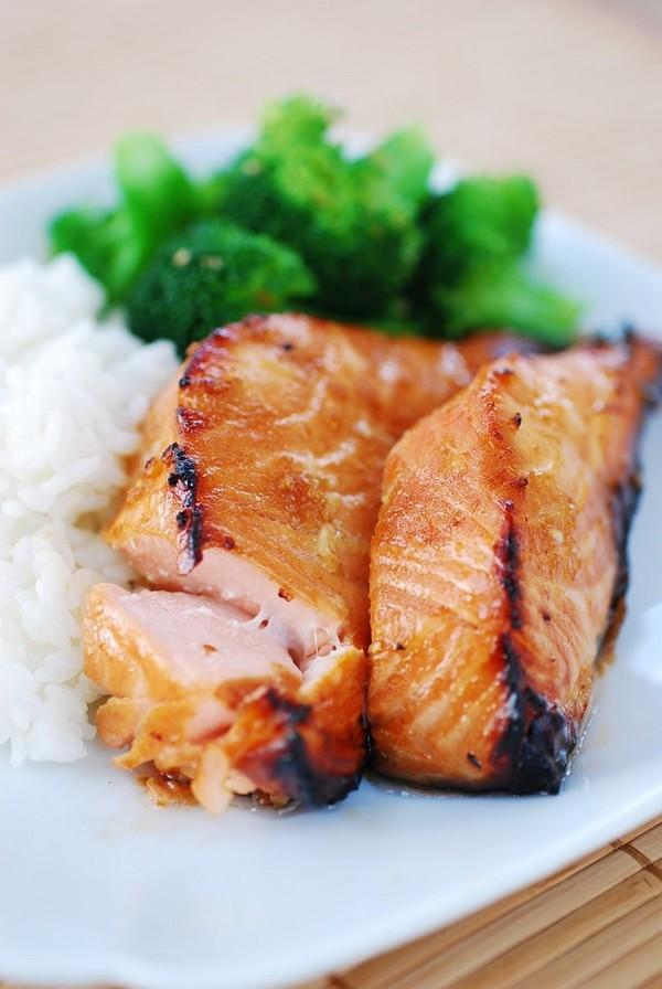 بولگوگی ماهی سالمون