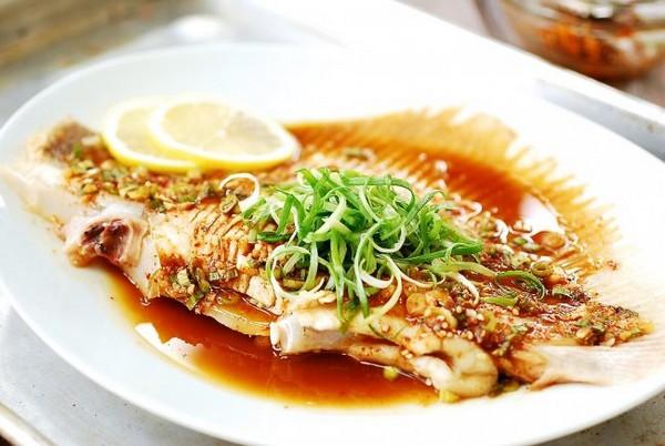 استیک ماهی بخارپز