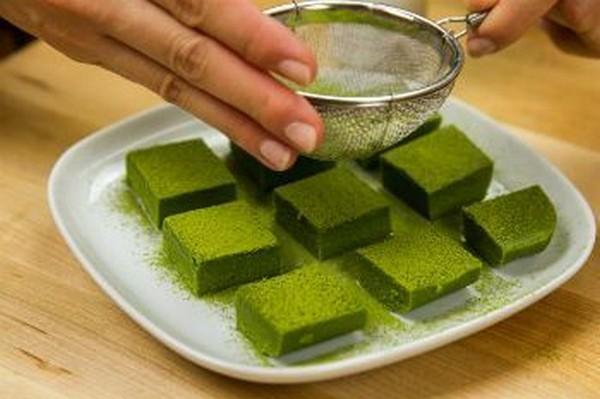 شکلات چای سبز
