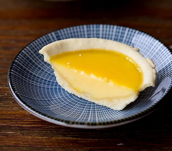تارت تخم مرغ هنگ کنگی